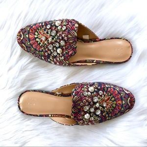 A New Day Embellished Mule Shoes